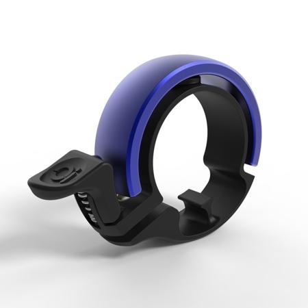Sonnette Knog Oi Limited Small 22,2 mm Noir / Bleu