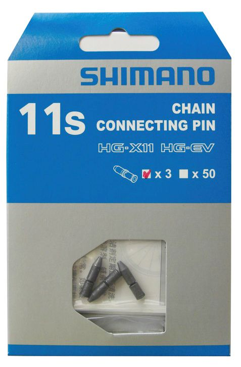 Axe connecteur de chaîne Shimano 11V (x3)