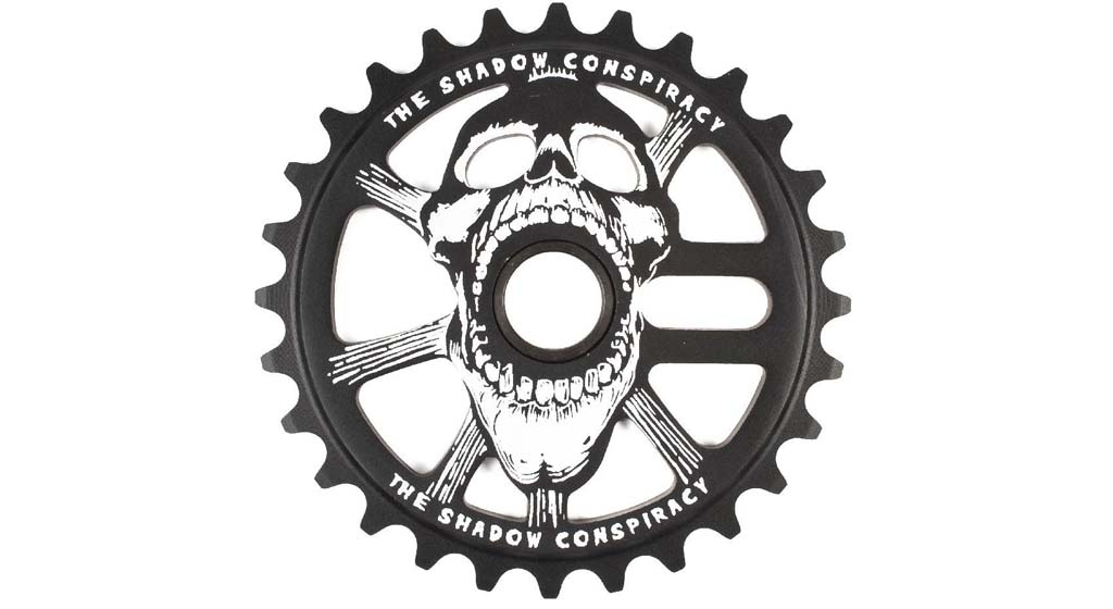 Couronne TSC Scream Sprocket 28 dents Noir