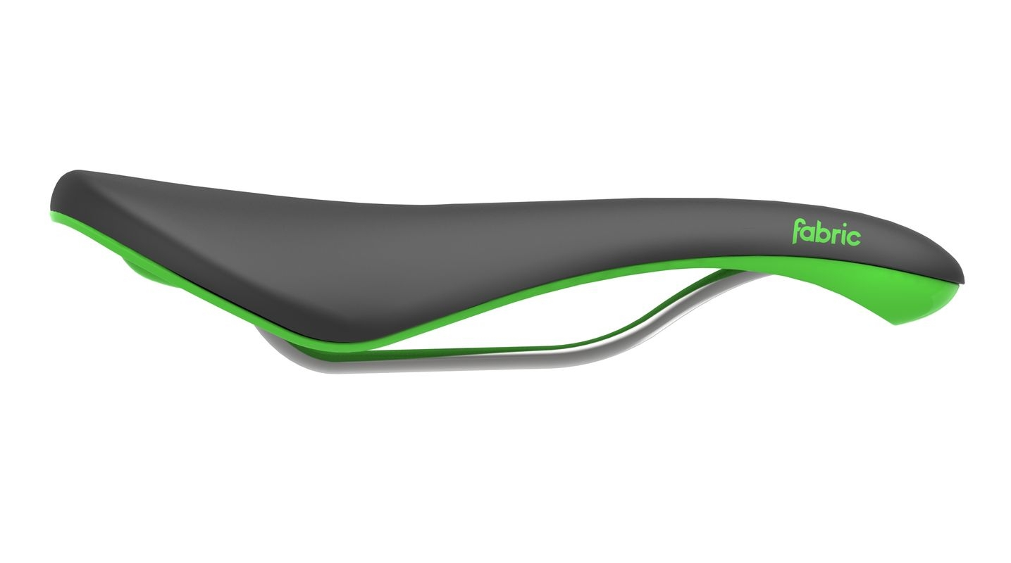 Selle Fabric Scoop Radius Elite Noir/Vert