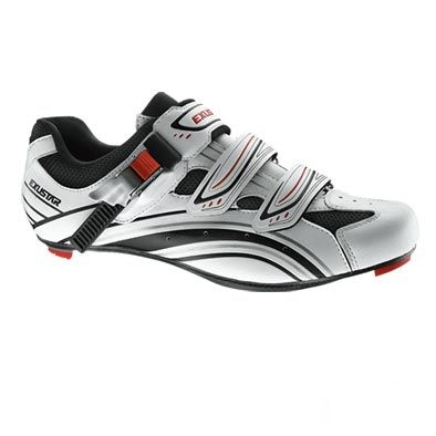 Chaussures route Exustar E-SR961 Blanc/Noir - 38