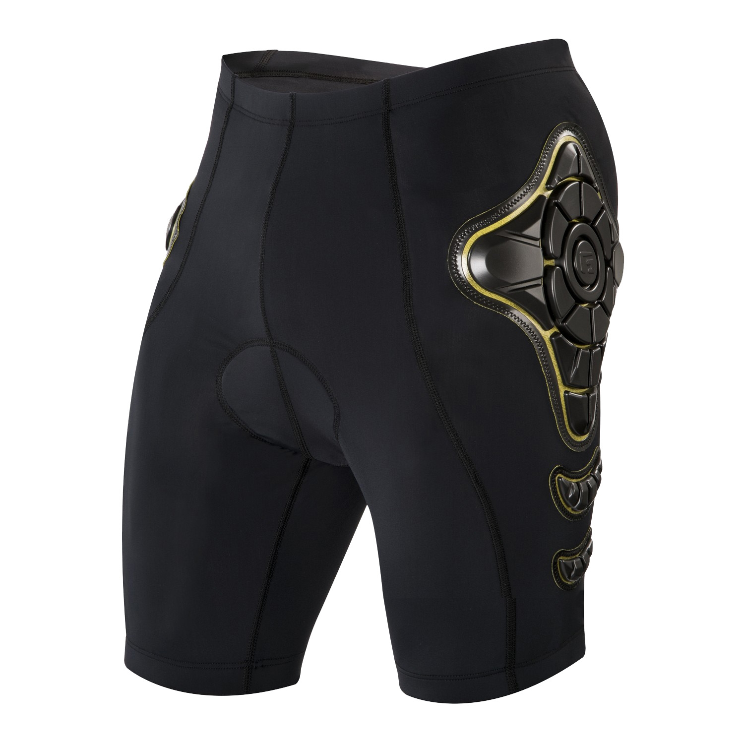 Short de protection G-Form Pro-B Noir/Jaune - S