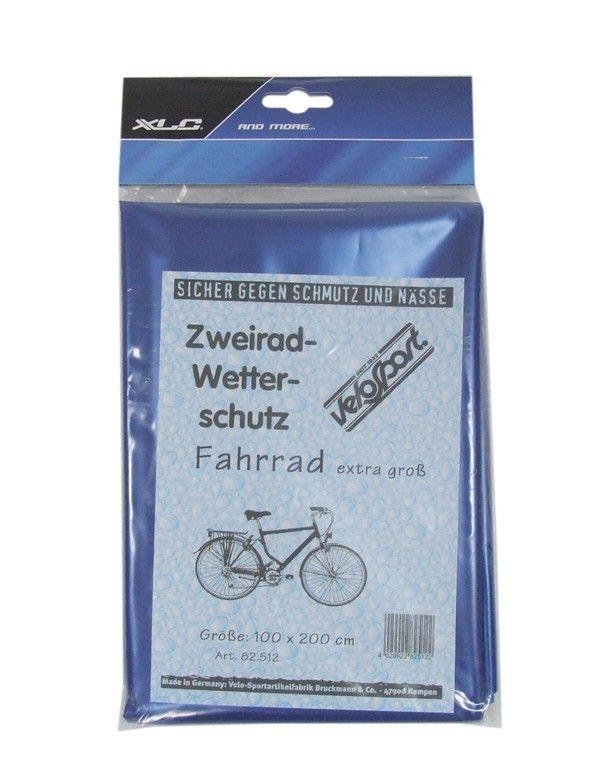Bâche de protection vélo 200x100 cm Bleu