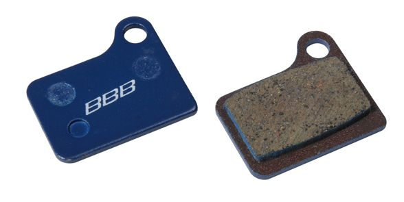 Plaquettes BBB comp. Shimano Deore M555/Nexave C901 hydrau. organiques - BBS-51