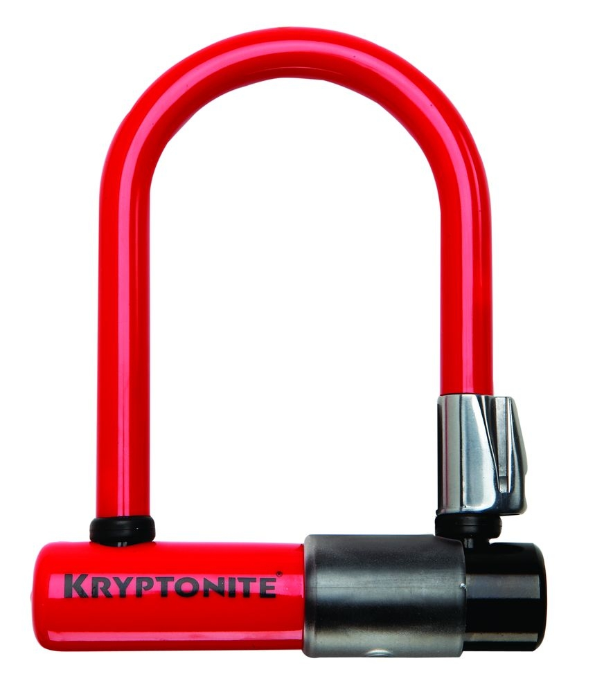 Skins Kryptonite pour antivol Evolution Mini U-Lock Rouge