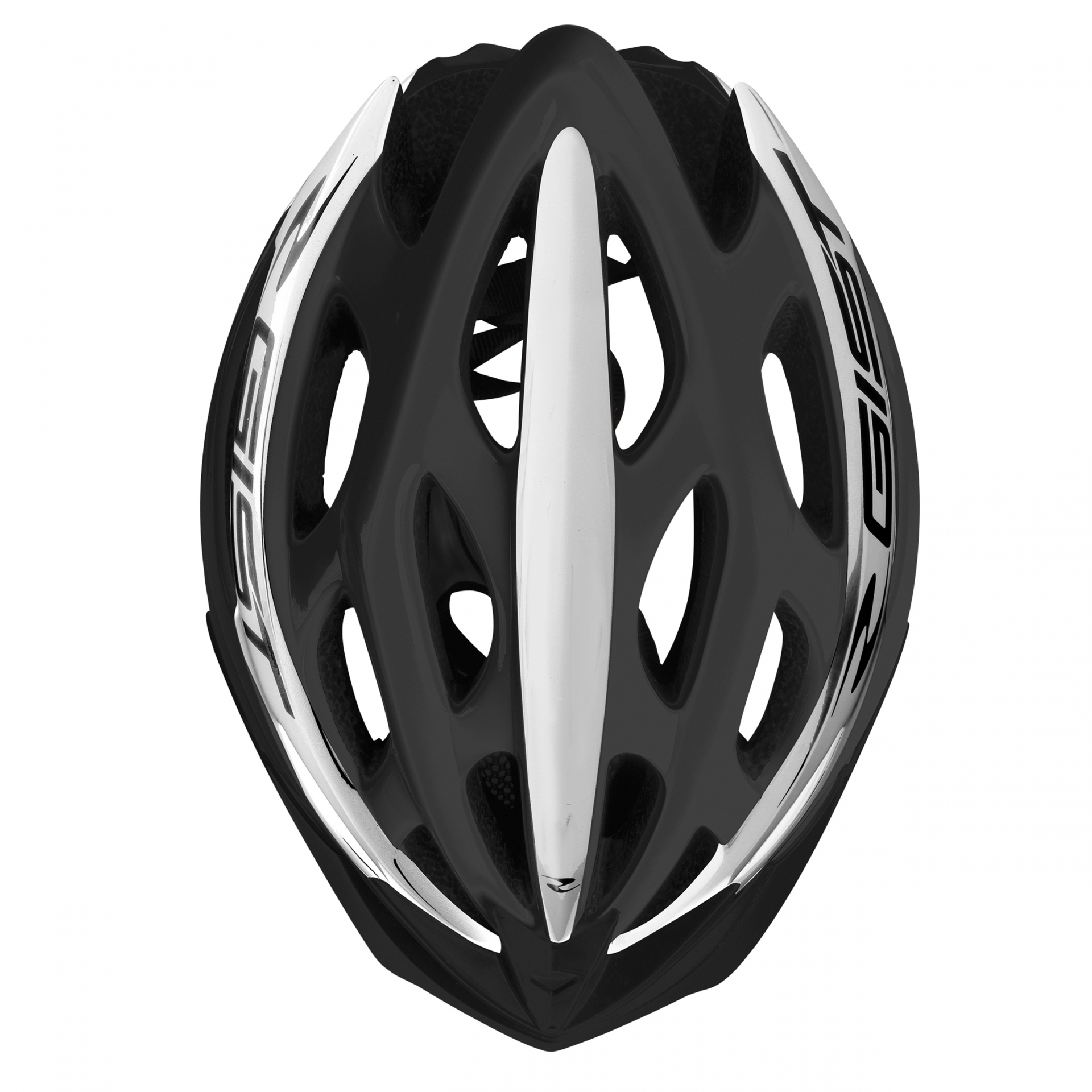 Casque Vélo GIST Faster Noir/Blanc - 52-58 cm
