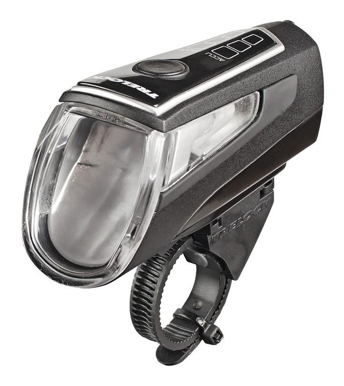 Éclairage avant Trelock LED LS 560 I-GO Control Batterie USB Noir