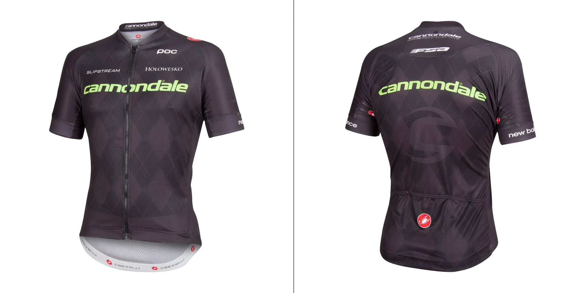 Maillot Cannondale Cannondale Pro Cycling Team by Castelli Noir Limited - L