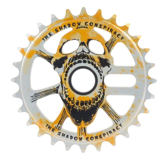Couronne TSC Scream Sprocket 25 dents Agent Orange