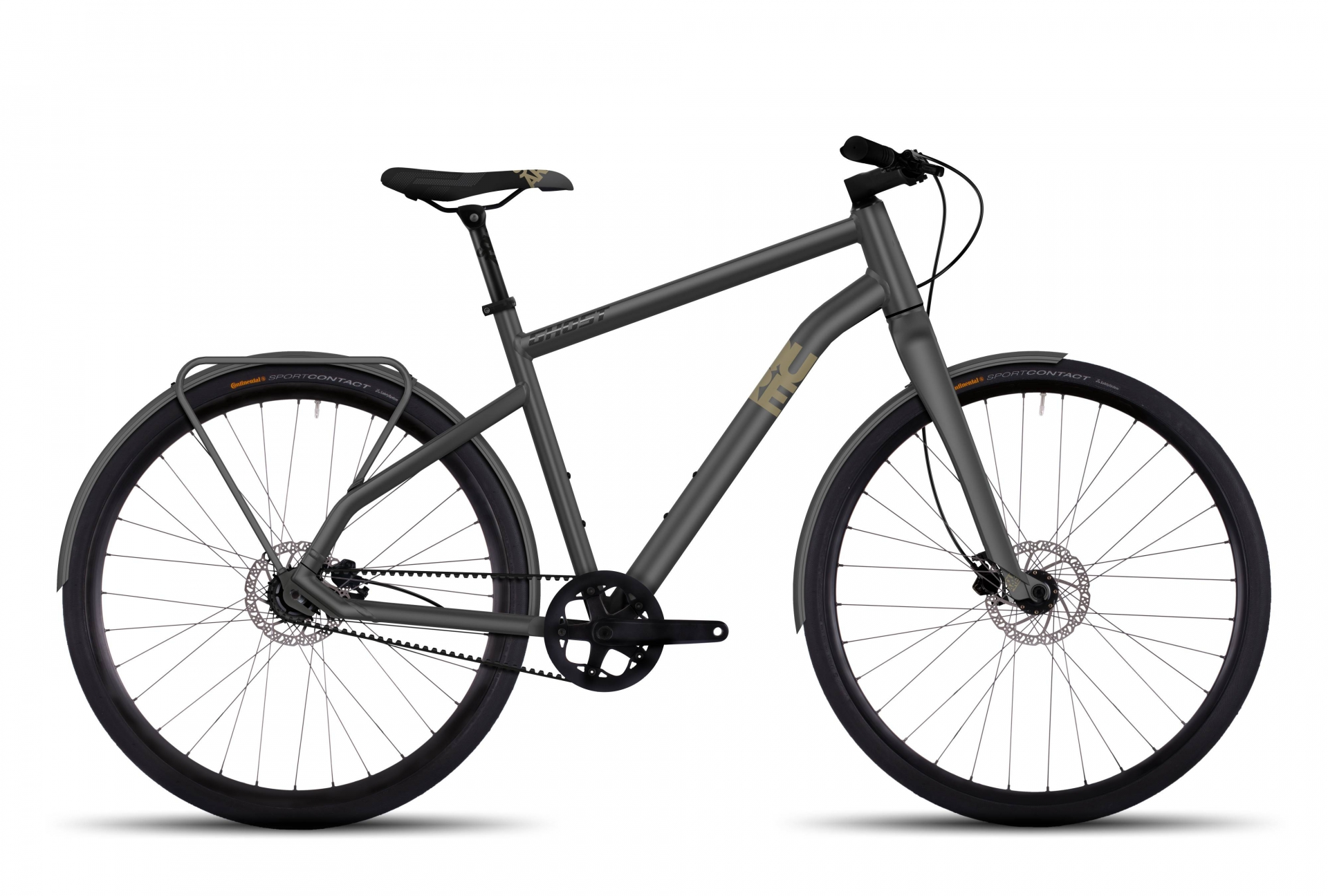 Vélo Ghost Square Urban 3 Gris - M