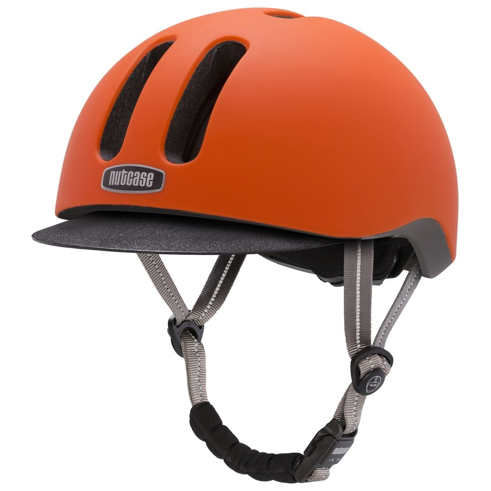 Casque Nutcase Metroride Dutch Orange (Mat)
