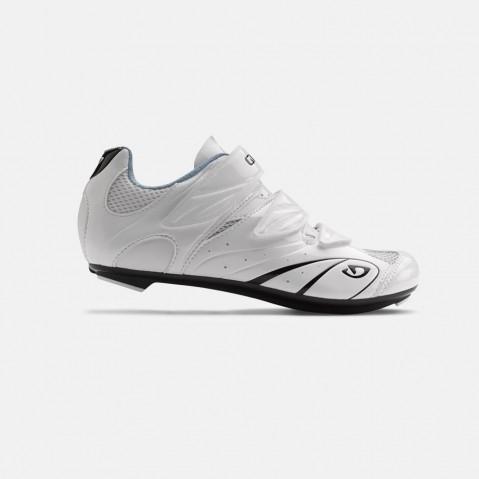 Chaussures route femme Giro Sante II Blanc/Noir/Bleu - 38