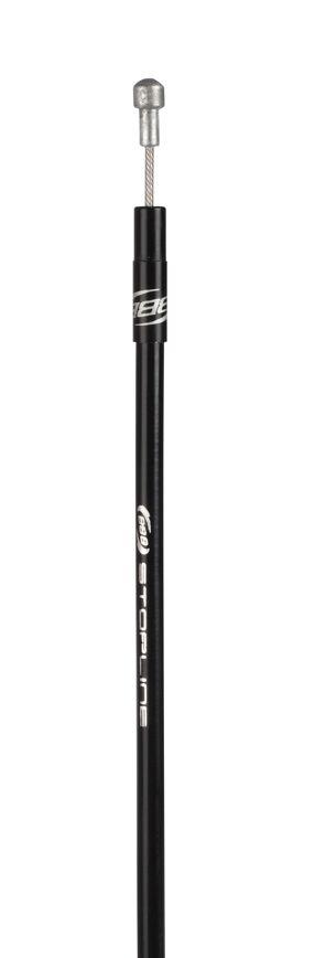 Kit câblerie frein route BBB StopLine comp. Campagnolo (noir) - BCB-06C