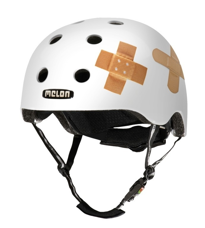 Casque Melon Urban Active Story Plastered Blanc - Xl-XXL / 58-63 cm