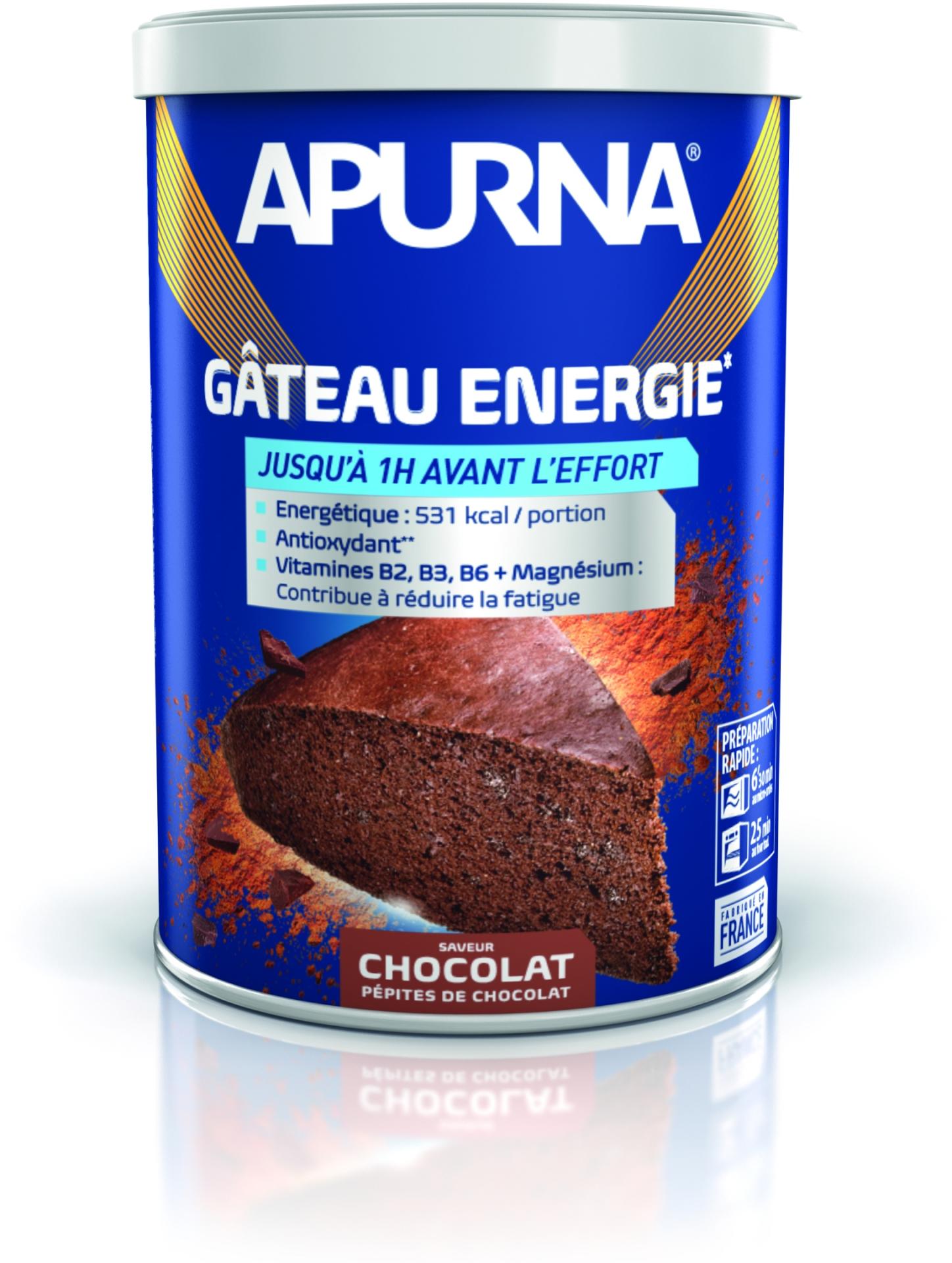 Gâteau énergie Apurna Chocolat Poudre 400 g