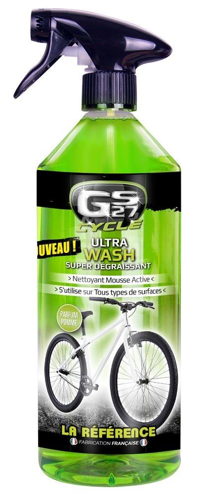 Nettoyant dégraissant Ultra Wash GS27 Cycle avec vaporisateur 1 litre