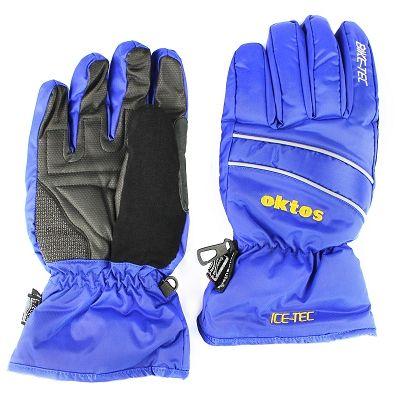 Gants vélo hiver Oktos Icetec Bleu - XL