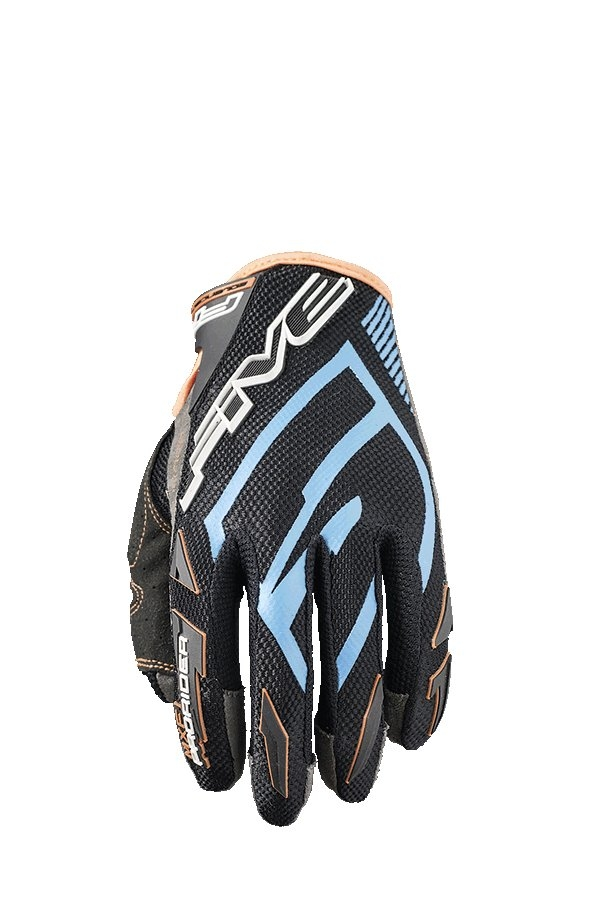 Gants cross Five MXF PRORIDER S bleu/orange fluo - XL