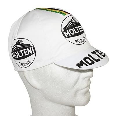 Casquette Equipe Vintage Molteni World Champion Blanc