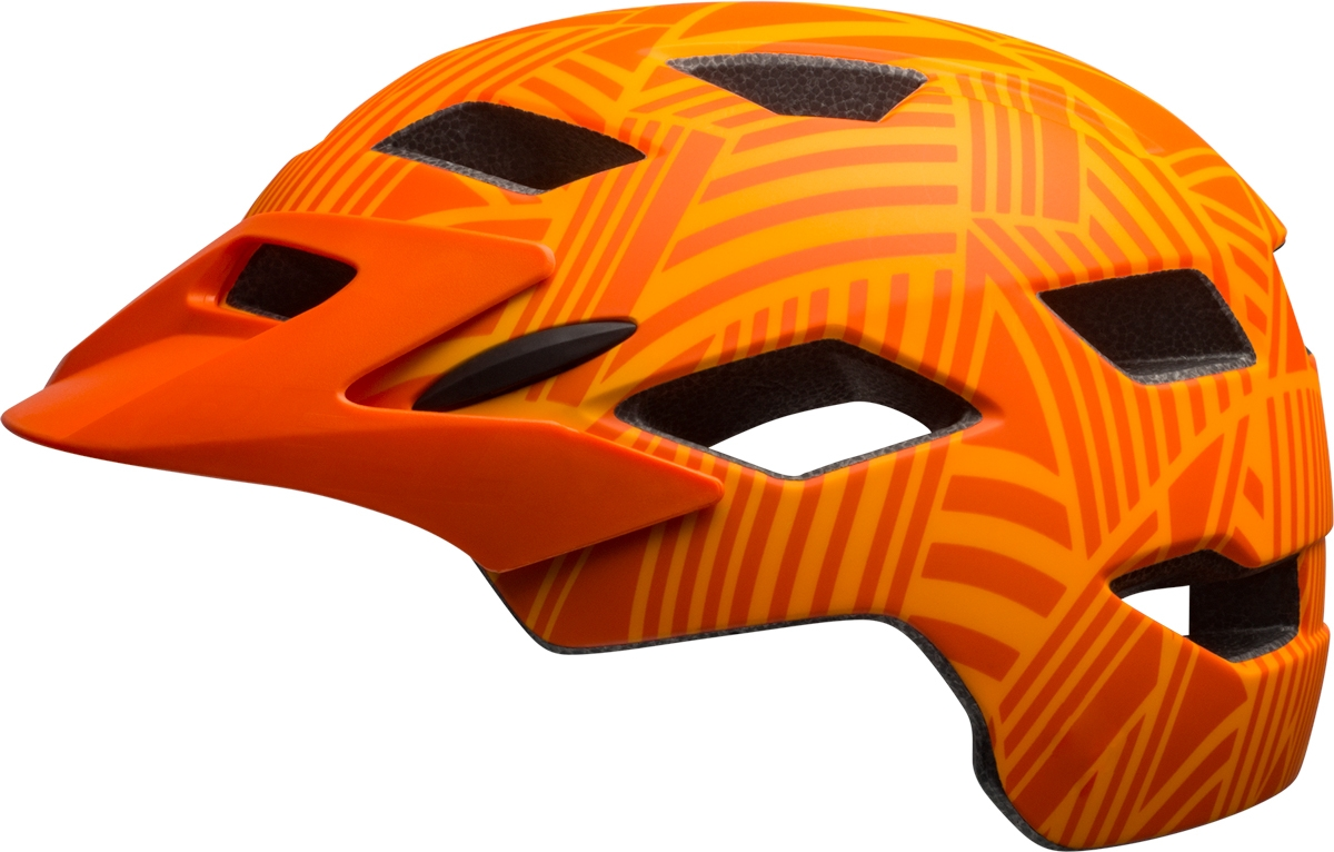 Casque junior Bell SIDETRACK YOUTH MIPS Mat tang/Orange seeker