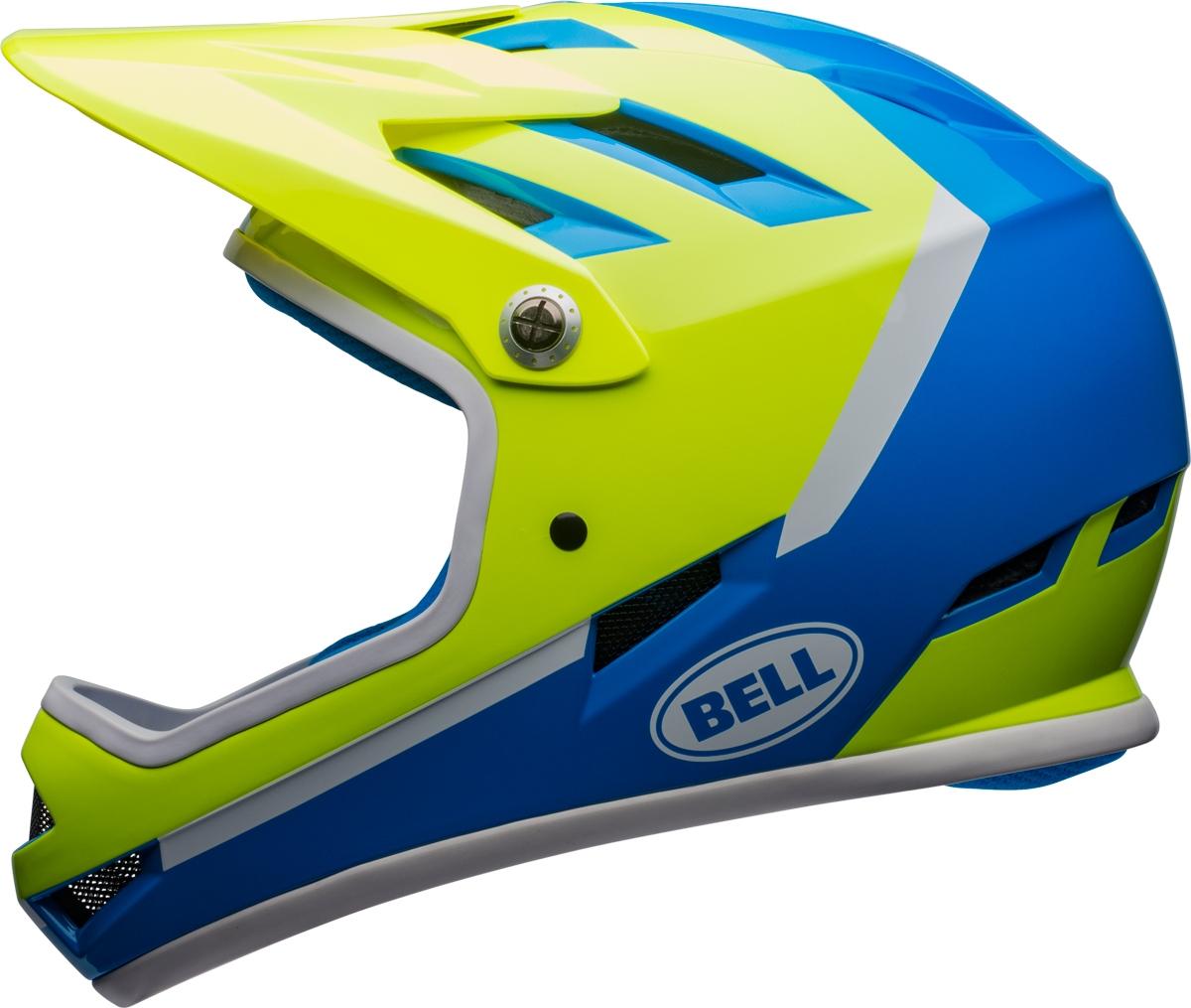 Casque Bell SANCTION Force Bleu/Retina Sear - S (52-56 cm)
