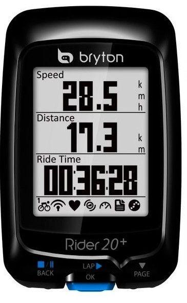 Compteur GPS Bryton Rider 20+ E