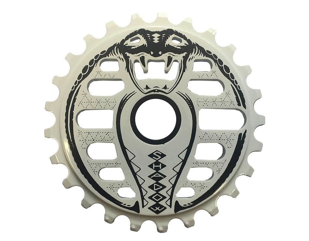 Couronne TSC Kobra Sprocket 25 dents Blanc