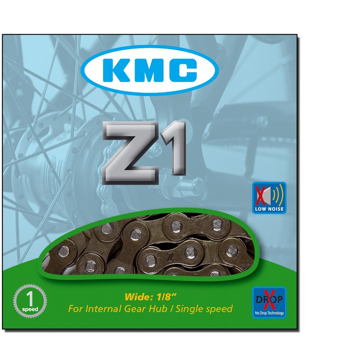 Chaîne vélo KMC 1 Vitesse Z1 1/2\