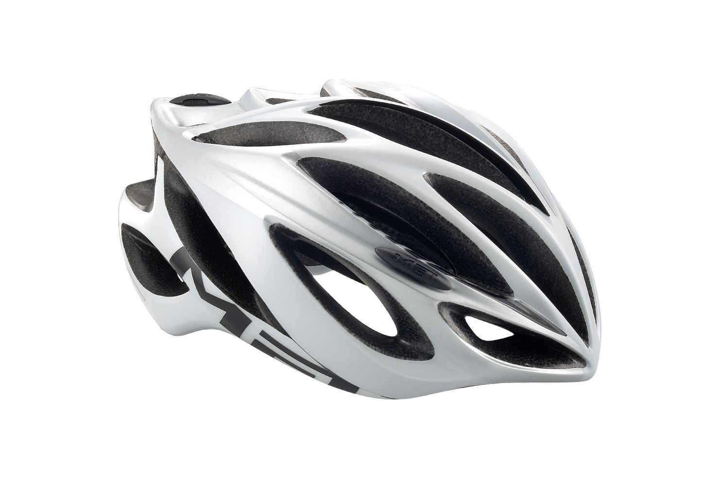 Casque MET Inferno UL blanc/silver - L 58-61
