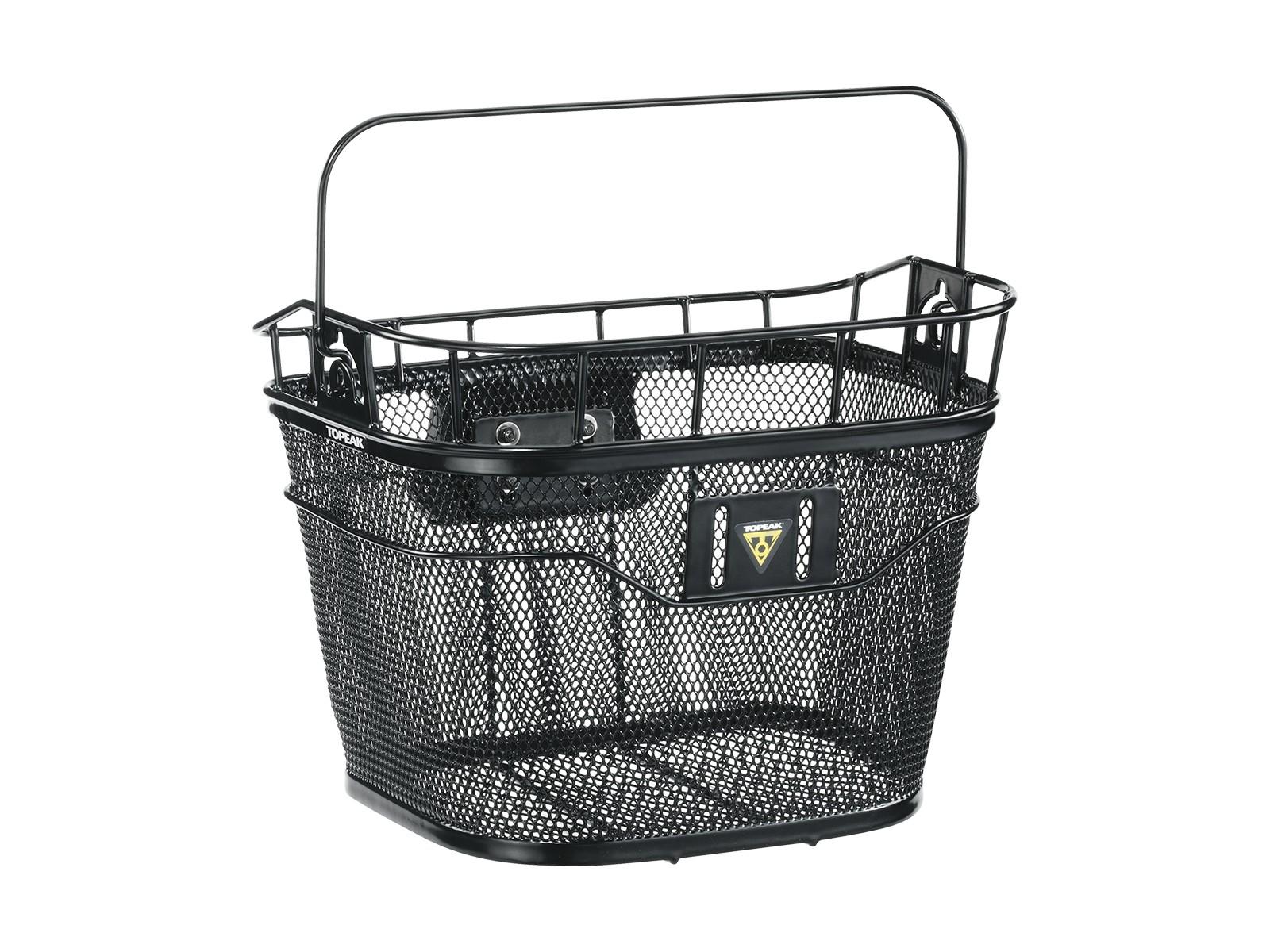 Panier avant Topeak Wire Basket + fixation Quickclick VAE 16 L Noir
