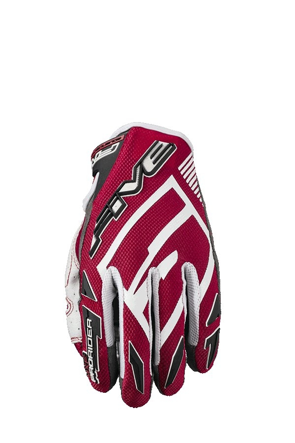 Gants cross Five MXF PRORIDER S rouge - M