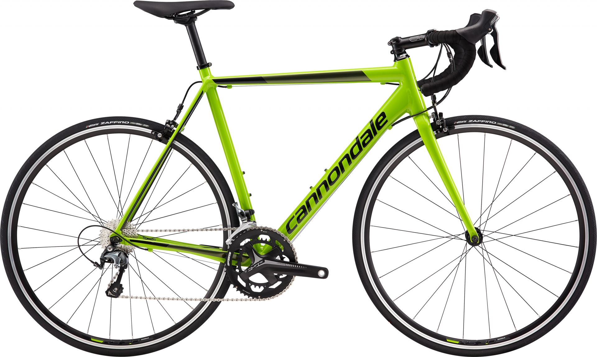 Vélo route Cannondale CAAD Optimo Tiagra Vert Replica/Noir - 51 cm