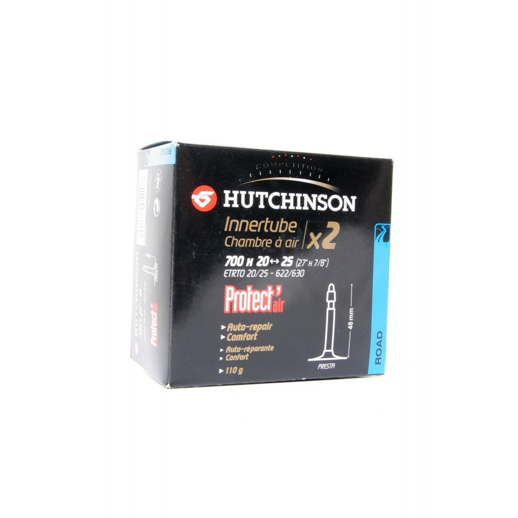 Chambre à air Hutchinson Protect'air 700x20/25 (x2) Presta 48 mm