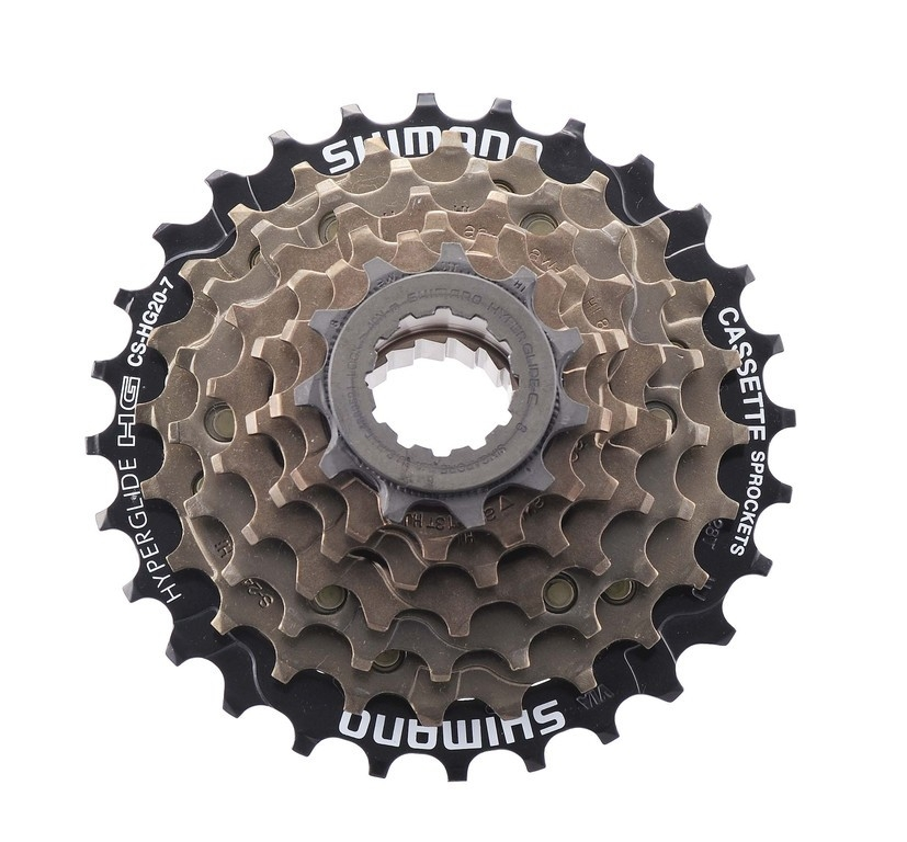 Cassette Shimano HG-20 12-28 dents 7 vitesses