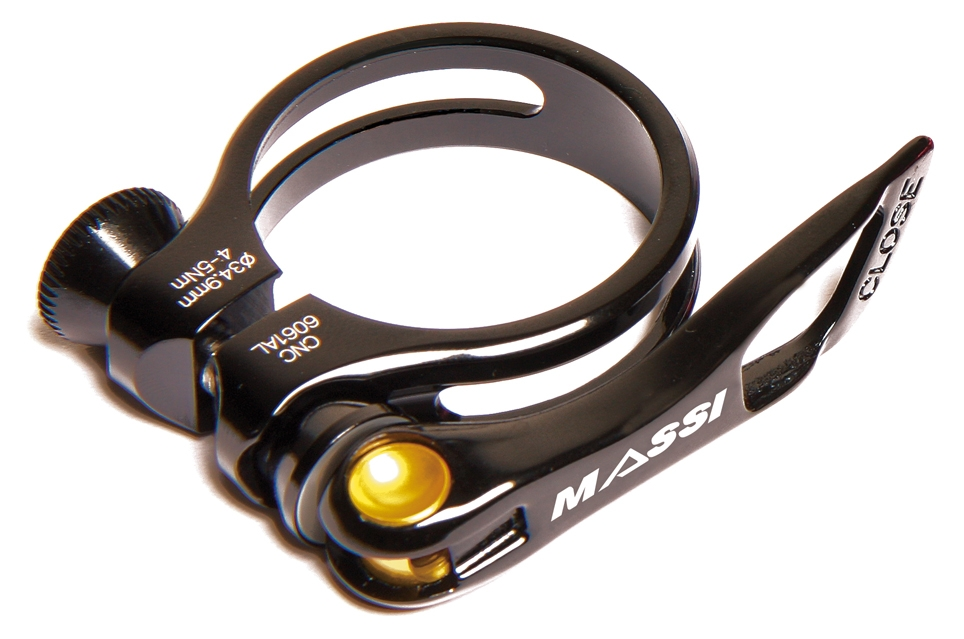 Collier de selle Massi Quick Release II 31,8 mm Noir
