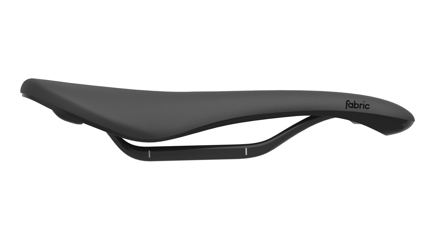 Selle Fabric Scoop Shallow Pro 142 mm Noir/Noir