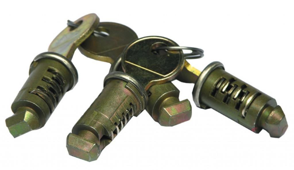 Barillet de verrouillage Thule One Key System (8 pièces)