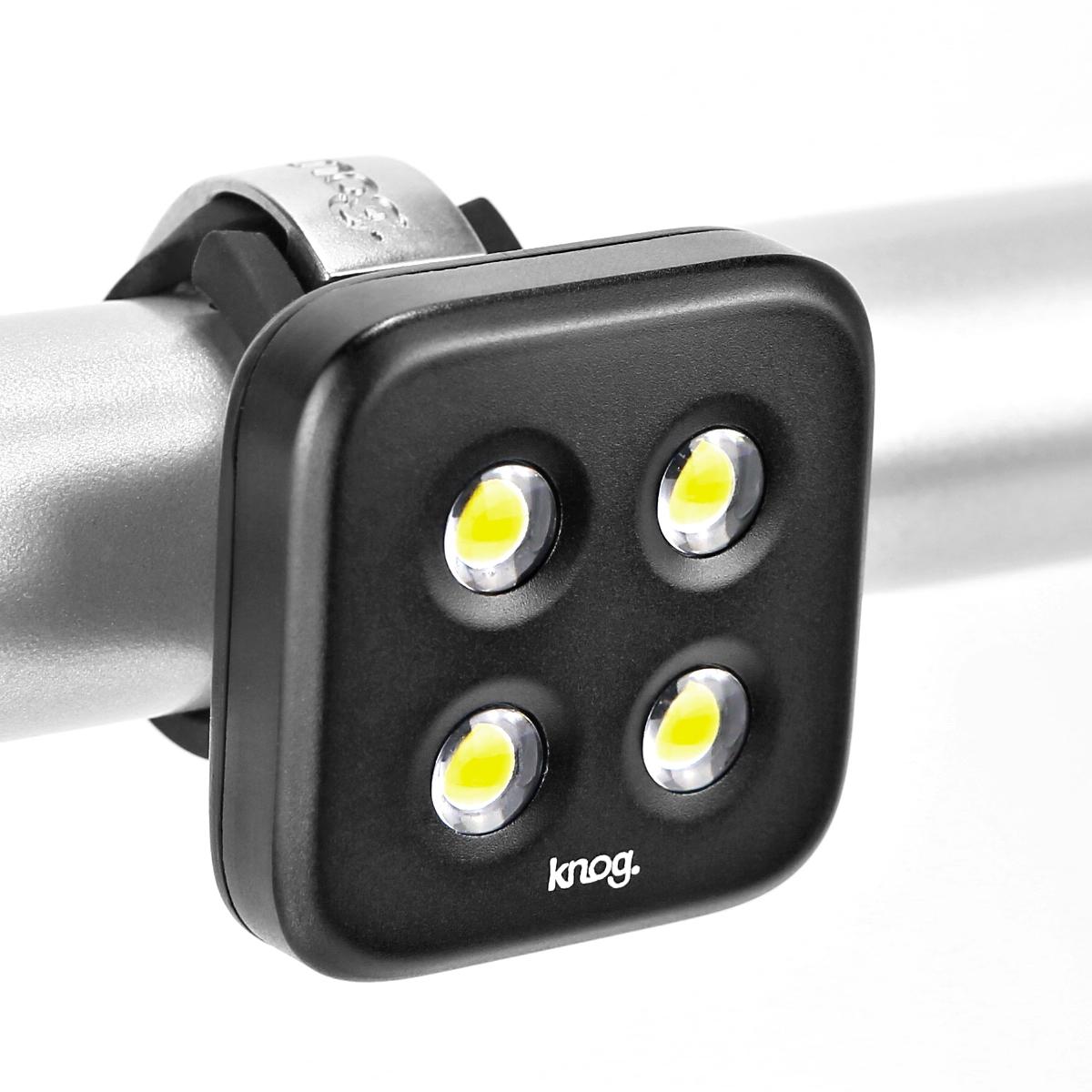 Éclairage arrière Knog Blinder Standard 4 LED - Argent