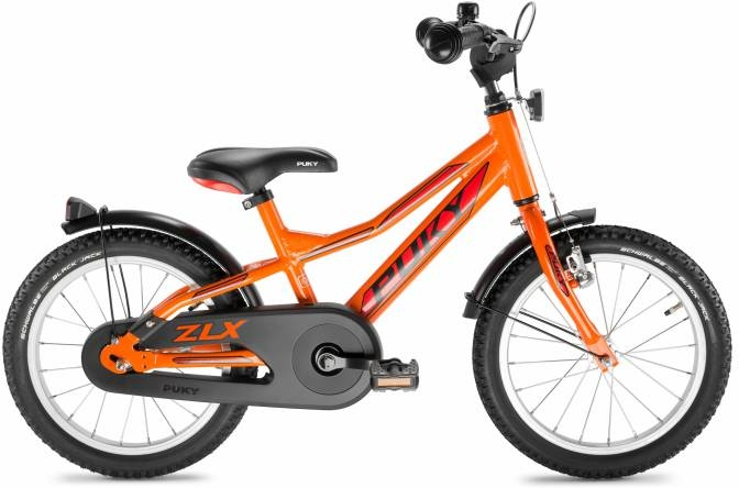 Vélo enfant 18 PUKY ZLX 18-1 Cyke Alu Racing Orange