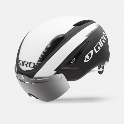 Casque Route Giro Air ATTACK Shield Noir/Blanc - S (51-55)