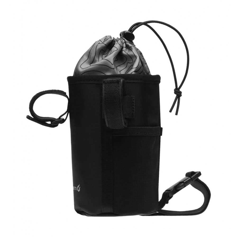 Sacoche de cintre bikepacking Blackburn Outpost CarryAll 1,2 L Noir