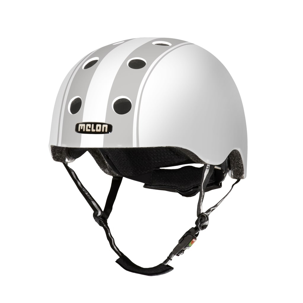 Casque Melon Urban Active Stripe Tease Decent Double Gris - XL-XXL / 58-63 cm