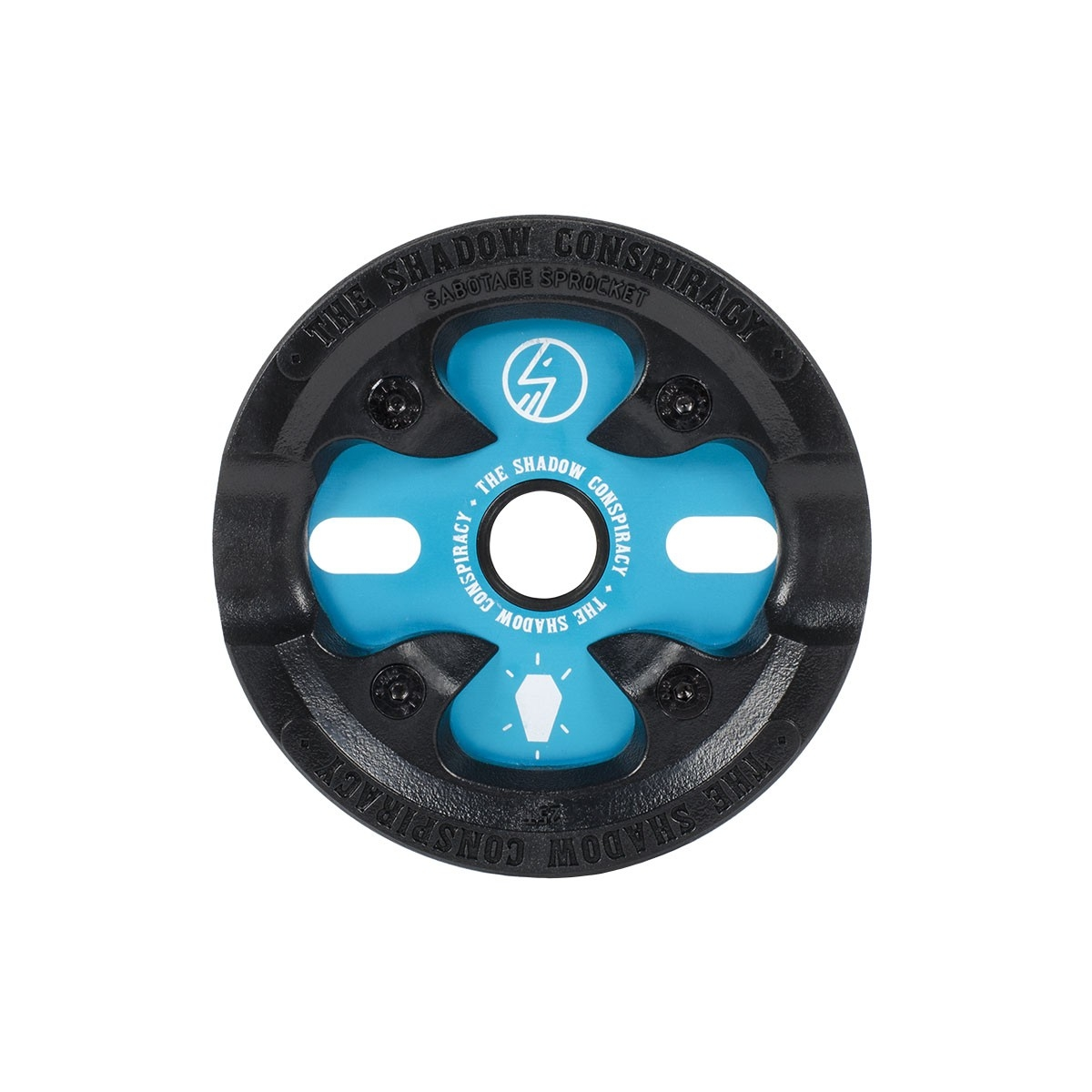Couronne BMX TSC Sabotage Sprocket 25 dts Bleu Polar Pop
