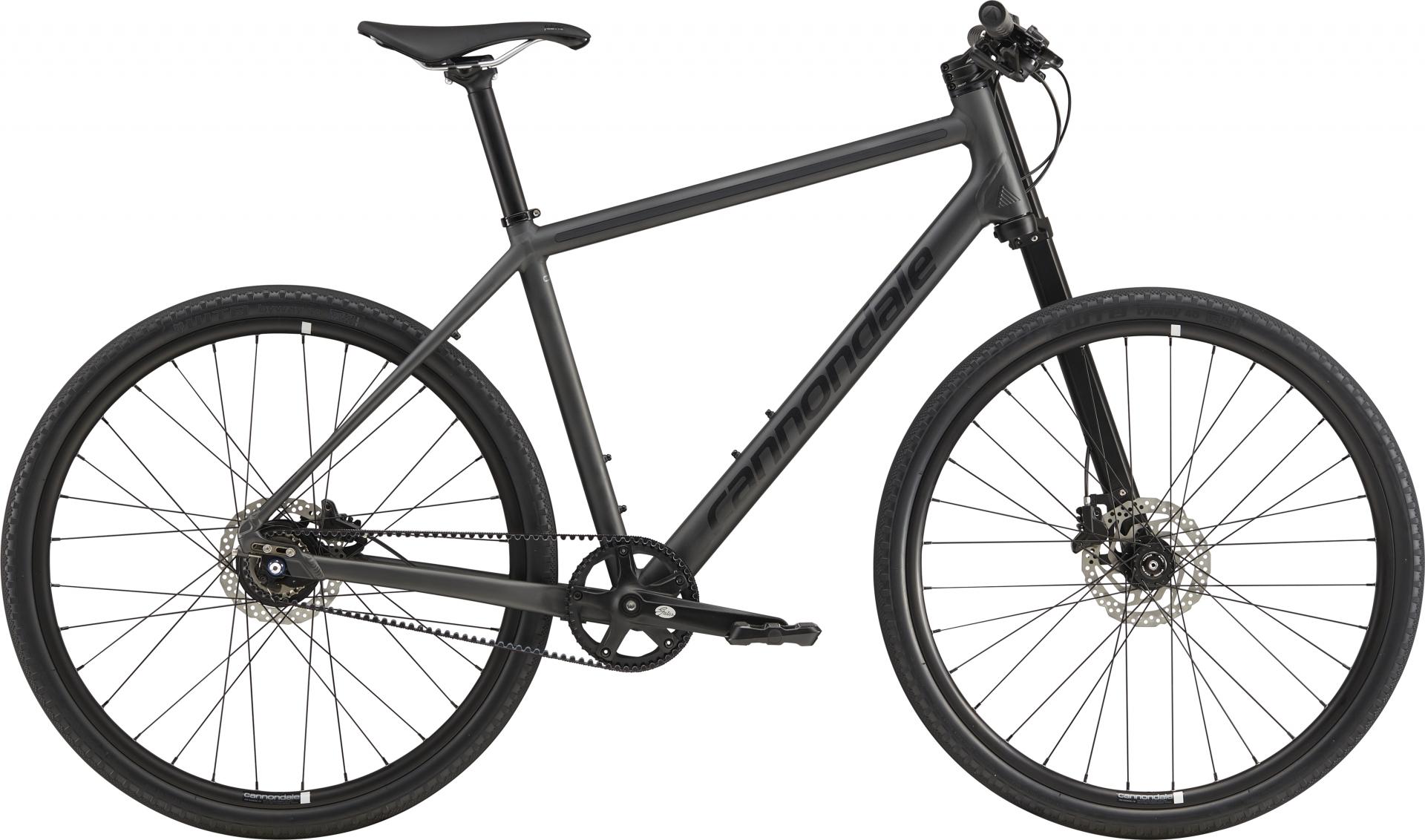 Vélo urbain Cannondale Bad Boy 1 27.5 Noir mat BBQ - M