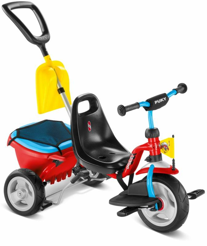 Tricycle Puky CAT 1SP + Accessoires 2 ans Rouge/Bleu