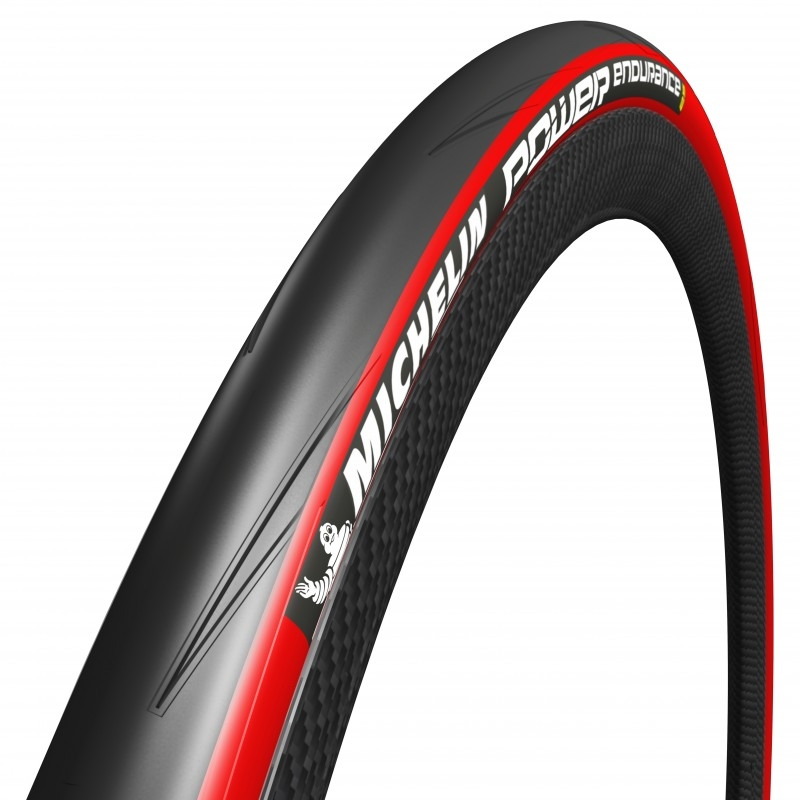 Pneu 700 x 25 Michelin Power Endurance TS Rouge