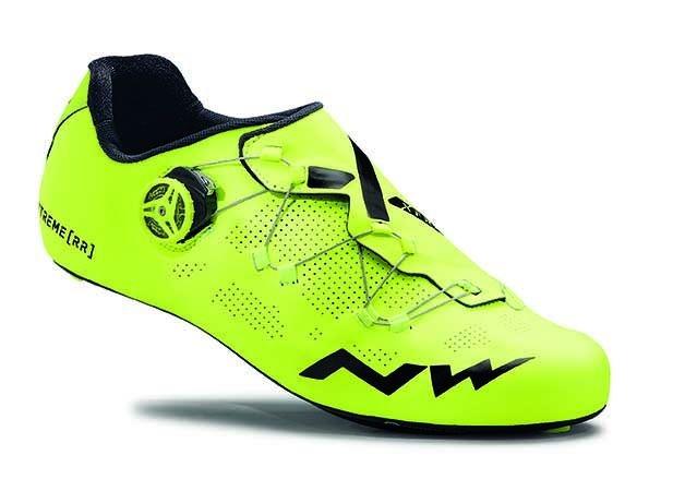 Chaussures Northwave Extreme RR Jaune fluo HighViz - 41