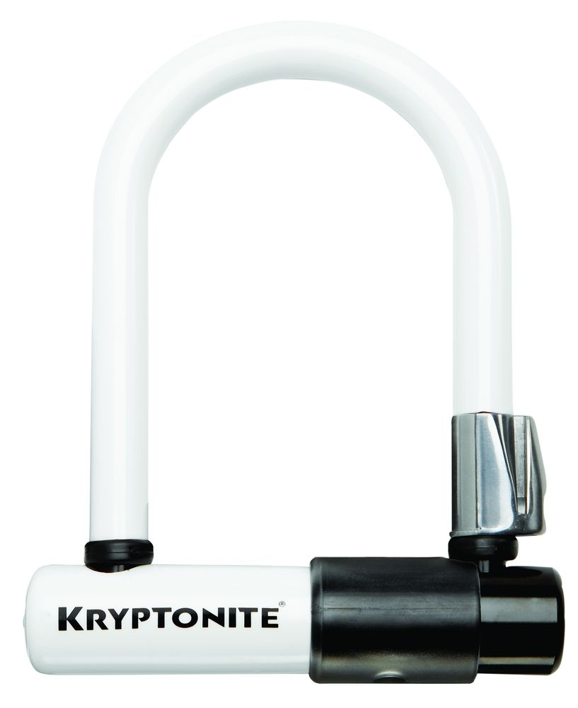 Skins Kryptonite pour antivol Evolution Mini U-Lock Blanc