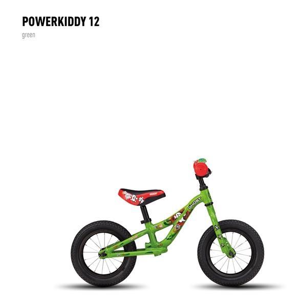 Draisienne Ghost Powerkiddy 12 Vert