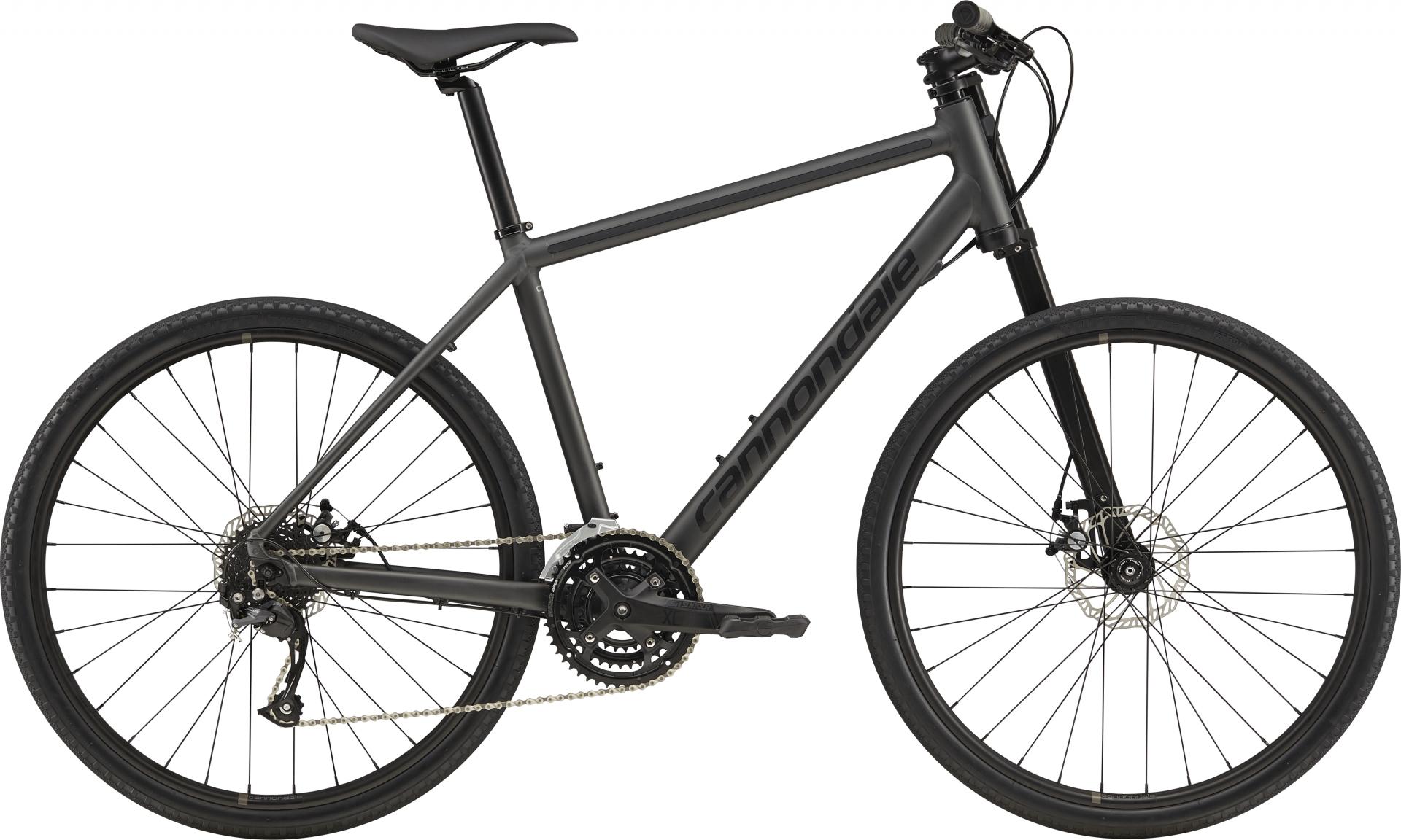 Vélo urbain Cannondale Bad Boy 3 27.5 Noir mat BBQ - S